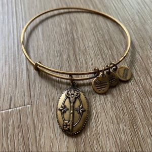 Alex & Ani Key to Life Bracelet - Gold